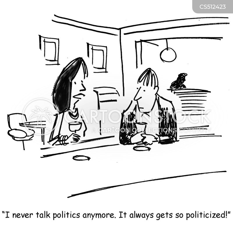 politicized cartoon