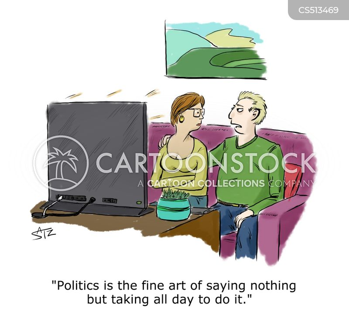doing nothing cartoon