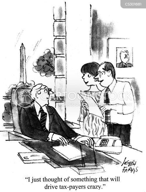 government expenditure cartoon