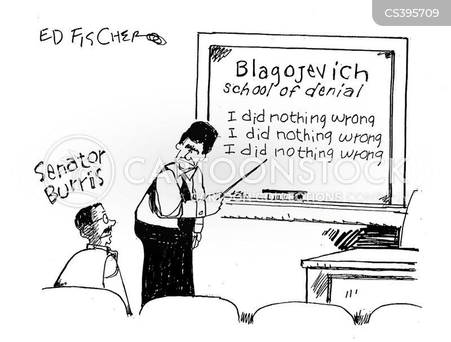 blagojevich cartoon