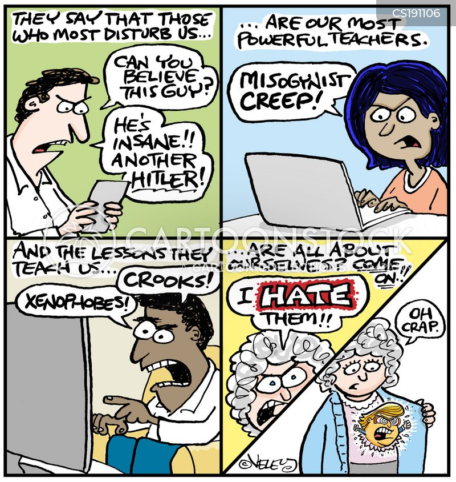 divisiveness cartoon