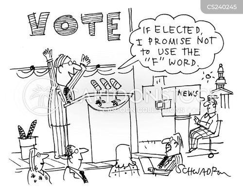 election tactic cartoon