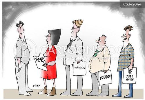 election time cartoon