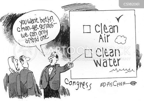 environmental concern cartoon