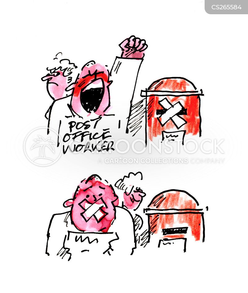 postwomen cartoon