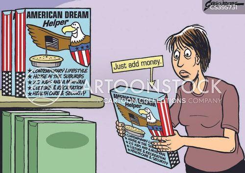 american dream cartoon