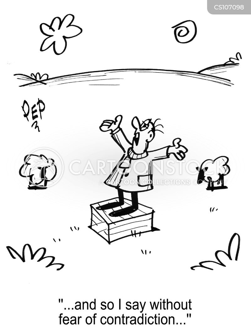 soap box cartoon