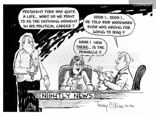 gerald ford cartoon