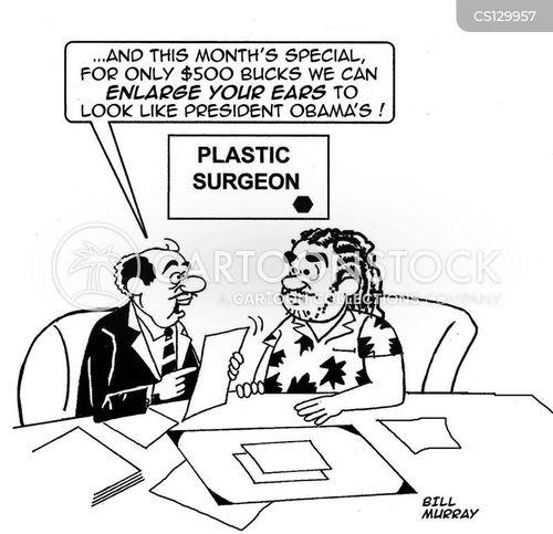political figure cartoon