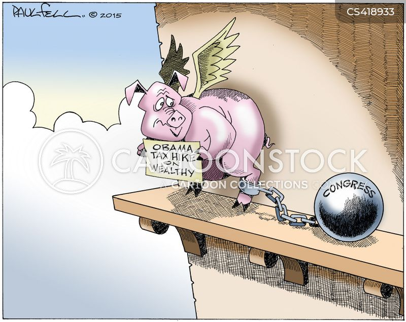tax plans cartoon