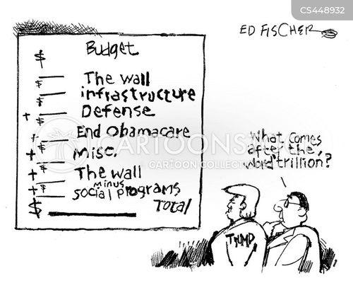 border walls cartoon