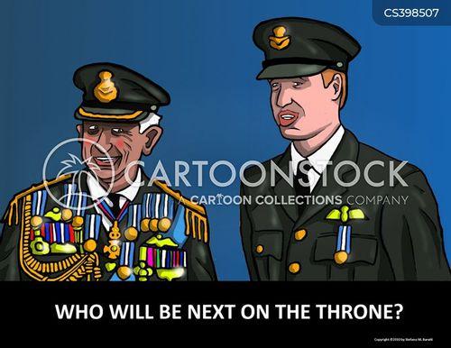 british royal family cartoon