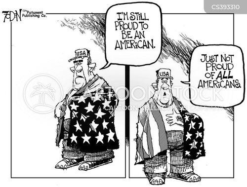 american pride cartoon