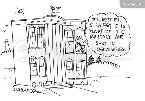 mercenaries cartoon