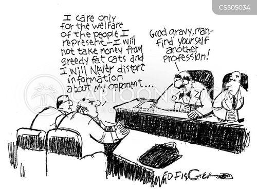 bad interview cartoon