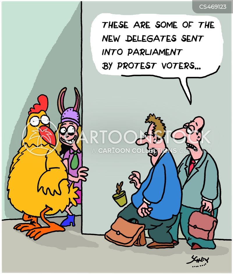 parliamentary electons cartoon
