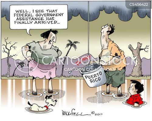 federal aid cartoon