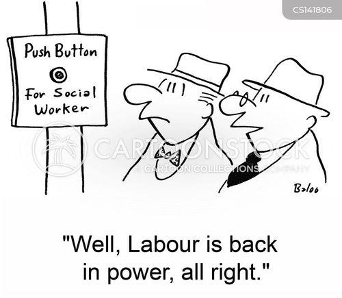 back in power cartoon