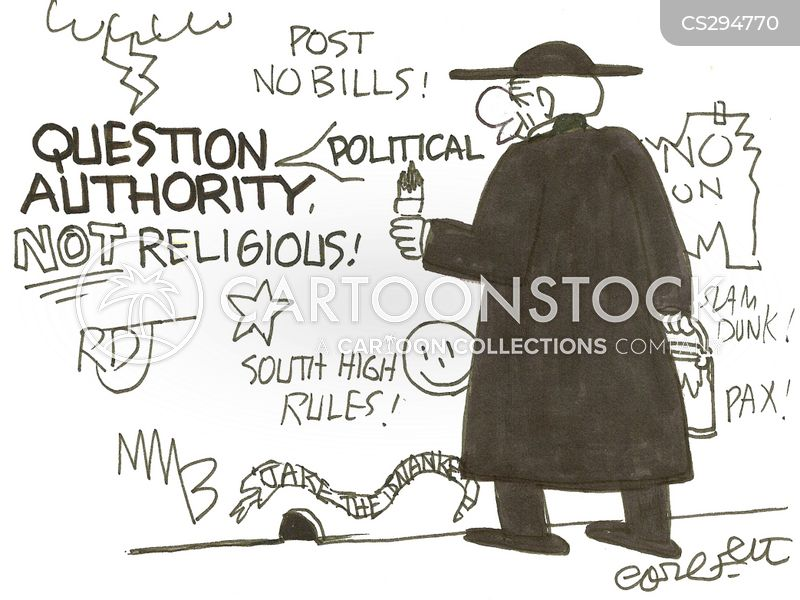 question authority cartoon