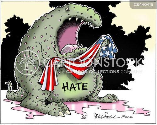 institutionalized racism cartoon
