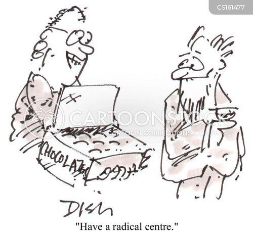 radicalism cartoon