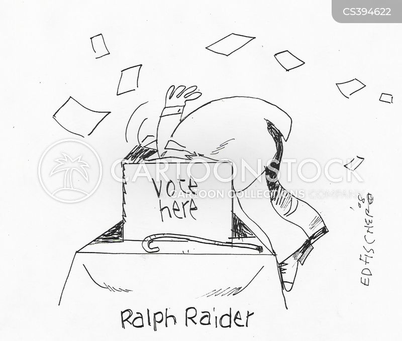 nader cartoon