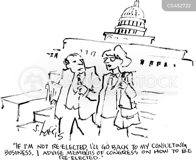 campaign consultants cartoon