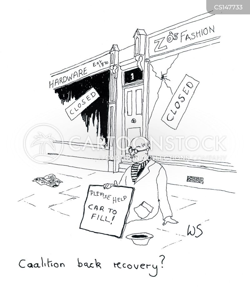closes cartoon