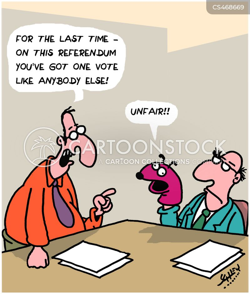 electoral fraud cartoon