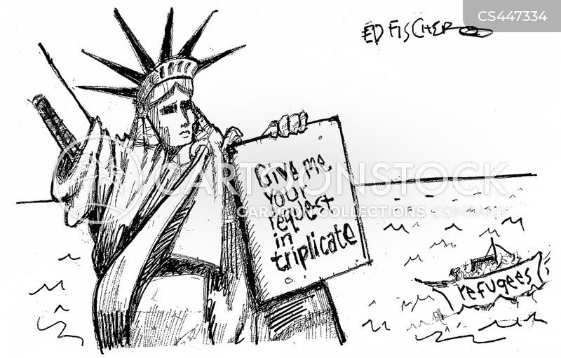 travel bans cartoon