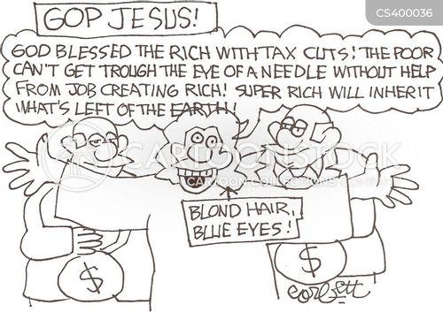 christian conservative cartoon