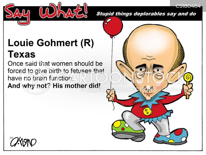 gohmert cartoon
