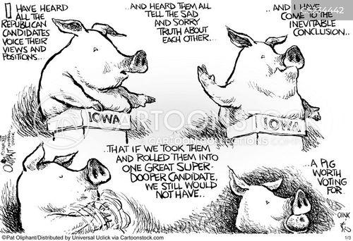 iowa cartoon
