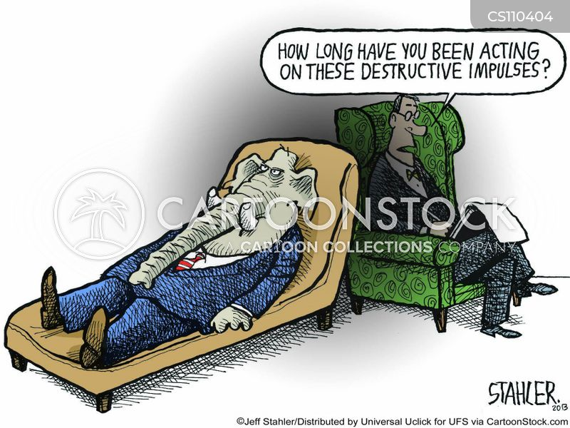 destructive cartoon