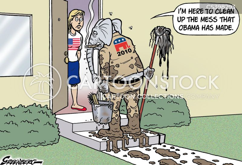 clean ups cartoon