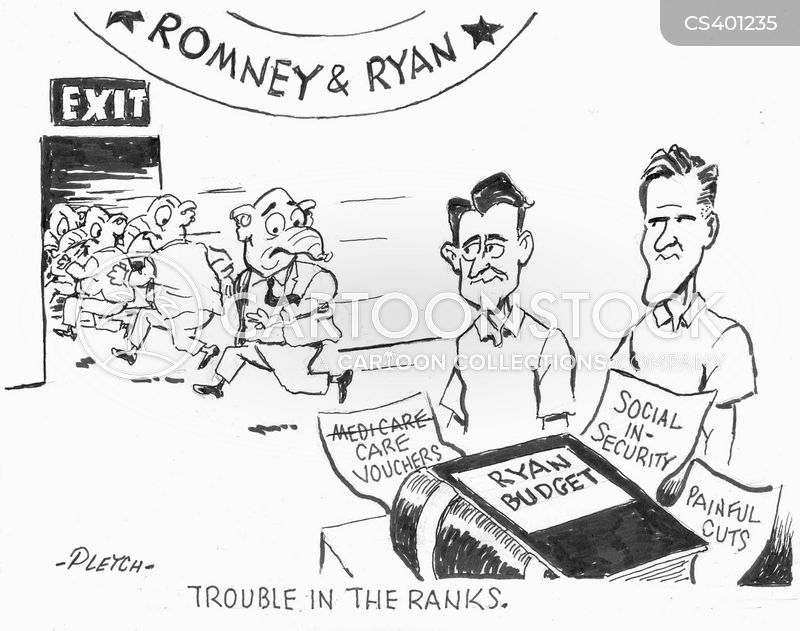 in the ranks cartoon