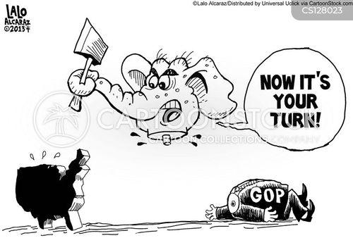 bipartisan cartoon