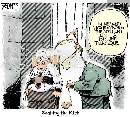 torture technique cartoon