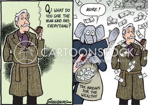 supply side economics cartoon