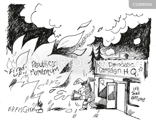 head quarters cartoon