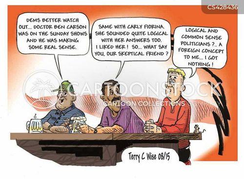 ben carson cartoon