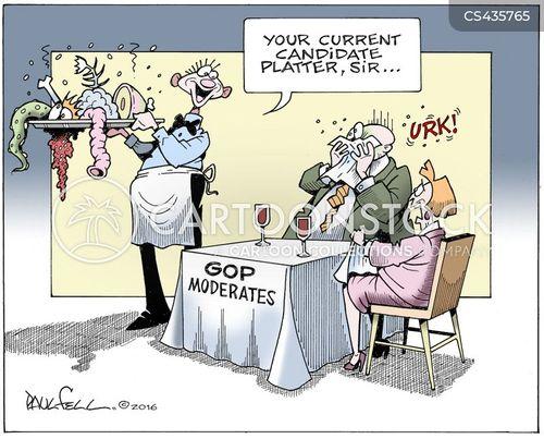moderates cartoon
