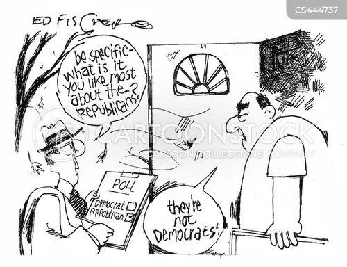 poll taker cartoon