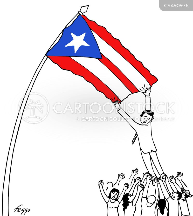 puerto rico cartoon