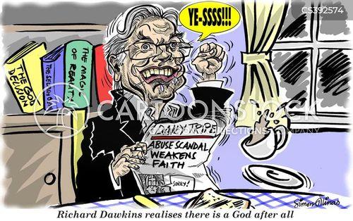 richard dawkins cartoon