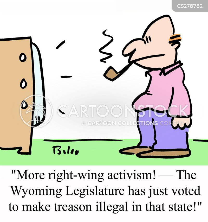 right winger cartoon