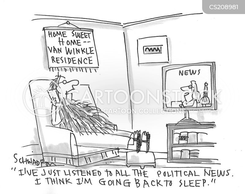 cable news cartoon