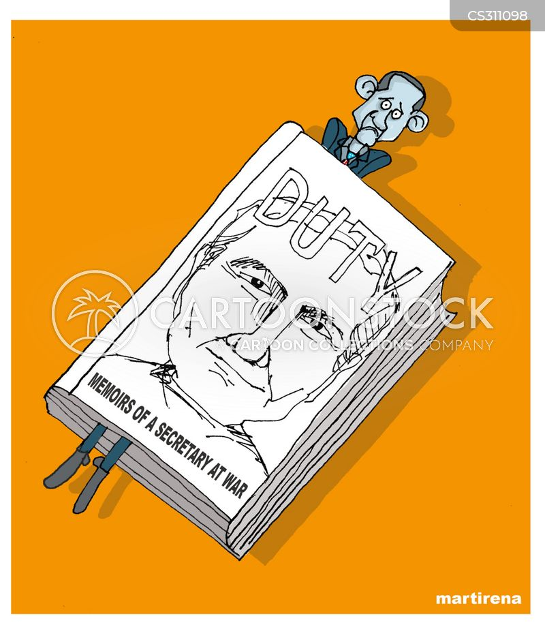 defense secretary cartoon