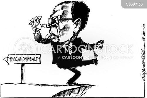 commonwealth cartoon