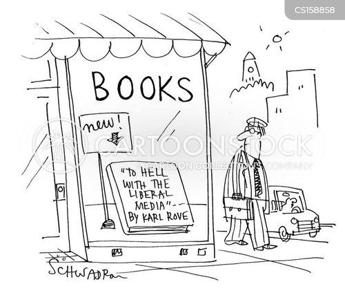 liberal media cartoon